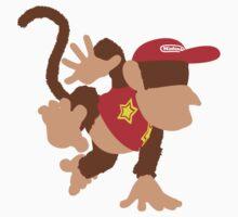 Smash Bros - Diddy Kong Baby Tee