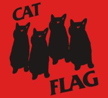 Black Flag Cat Baby Tee