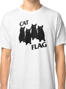 Black Flag Cat Classic T-Shirt