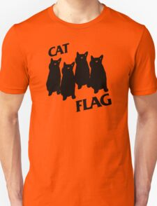 Black Flag Cat T-Shirt
