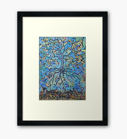 'Flying Mother Nature' Framed Print