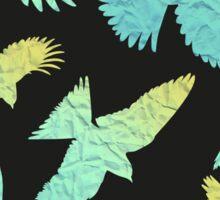 - Paper birds pattern - Sticker