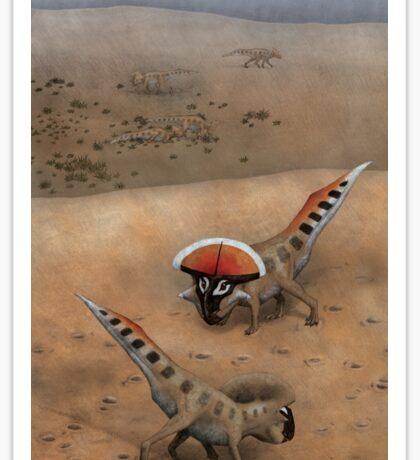 Protoceratops Confrontation Sticker