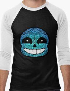 Sans Sugar Skull Undertale #2 Men's Baseball ¾ T-Shirt