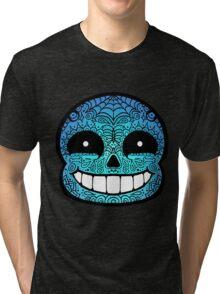 Sans Sugar Skull Undertale #2 Tri-blend T-Shirt