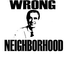 Wrong Neighborhood Photographic Print