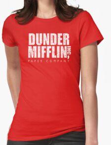 DUNDER MIFFLIN Womens Fitted T-Shirt