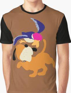 Smash Bros - Duck Hunt Graphic T-Shirt