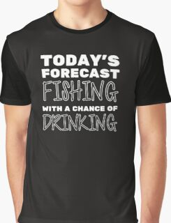 Fishing Of Drinking Graphic T-Shirt