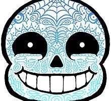 Sans Sugar Skull Undertale #1 by bacibella