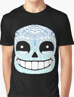 Sans Sugar Skull Undertale #1 Graphic T-Shirt