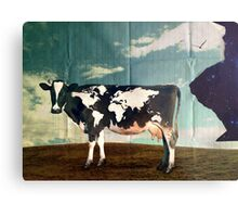 Surreal Bovine Atlas Metal Print