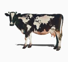 Surreal Bovine Atlas One Piece - Short Sleeve