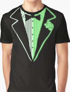 Glow In The Dark Tuxedo Graphic T-Shirt