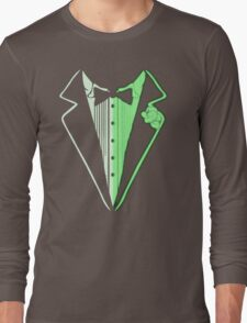 Glow In The Dark Tuxedo Long Sleeve T-Shirt