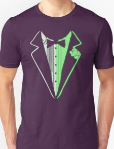 Glow In The Dark Tuxedo Unisex T-Shirt
