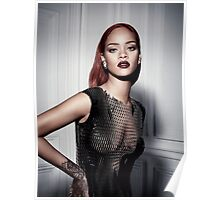 Hot Rihanna Pose 3 by rafi Poster