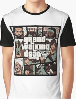 Grand Walking Dead - The Walking Dead Graphic T-Shirt