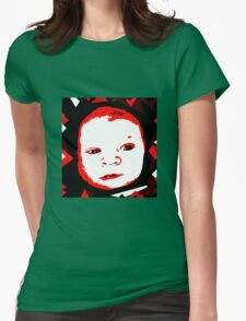 Baby Face Womens Fitted T-Shirt