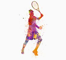 tennis player celebrating in silhouette 01 T-Shirt