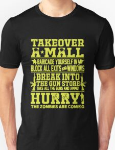 Takeover A Mall Unisex T-Shirt