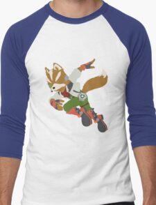 Smash Bros - Fox Men's Baseball ¾ T-Shirt