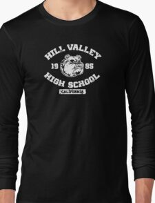 Hill Valley High School Long Sleeve T-Shirt