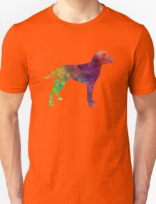 Old Danish Pointer in watercolor Unisex T-Shirt