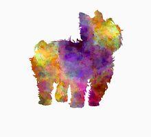 Yorkshire Terrier in watercolor Unisex T-Shirt