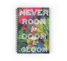 colorful vibrant plants Spiral Notebook