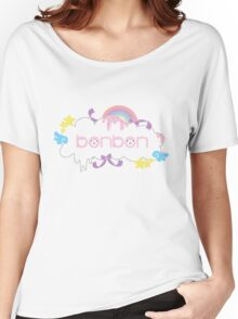 Cute Bonbon Arpakasso Rainbow Kawaii Candy Women's Relaxed Fit T-Shirt