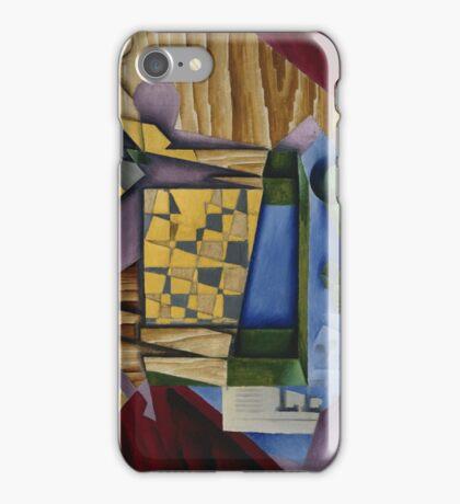 Juan Gris, , BACKGAMMON iPhone Case/Skin