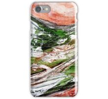 Sunset over Green Hills 2 iPhone Case/Skin