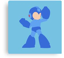 Smash Bros - Mega Man Canvas Print
