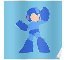 Smash Bros - Mega Man Poster