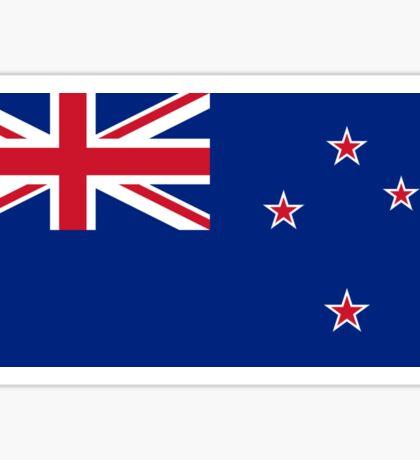 New Zealand Flag - NZ All Black T-Shirt World Cup Sticker Sticker