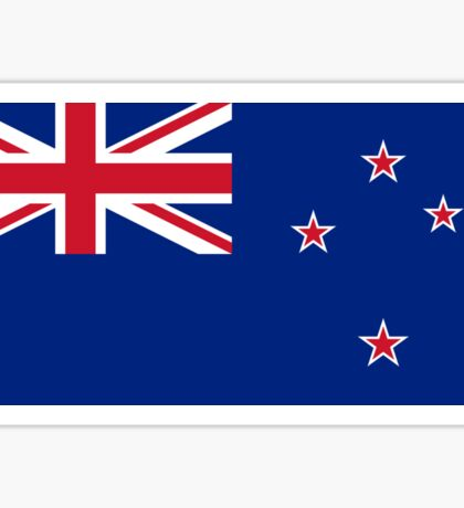 New Zealand Flag - NZ All Black T-Shirt World Cup Sticker Sticker