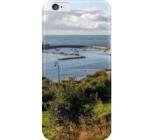 Winter Morning At Lyme Regis iPhone Case/Skin