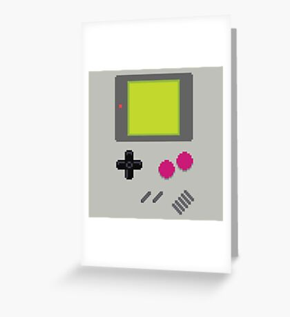 GameBoy Greeting Card