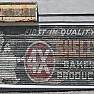 Old Bakery Sign by Ethna Gillespie