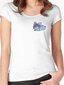 Sleeping Cat Women's Fitted Scoop T-Shirt