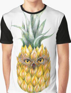 Pine apple owl Graphic T-Shirt