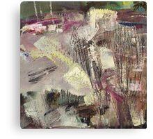 oil on canvas, 2016 Canvas Print