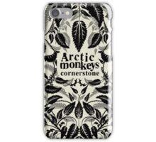 Arctic monkey cornerstone music albums iPhone Case/Skin