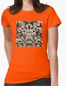 Arctic monkey cornerstone music albums Womens Fitted T-Shirt