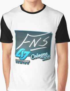 CLG FNS - Cologne 2015 Sticker Graphic T-Shirt