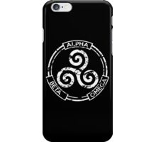 Alpha Beta Omega - Teen Wolf iPhone Case/Skin