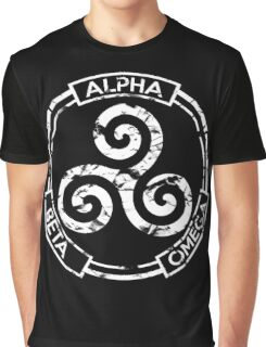 Alpha Beta Omega - Teen Wolf Graphic T-Shirt