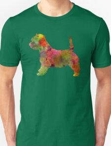 West Highland White Terrier in watercolor Unisex T-Shirt