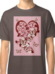 Hearts and Butterflies Classic T-Shirt